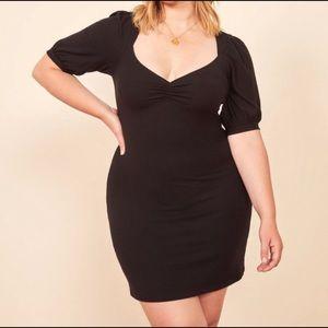 Reformation Natty ribbed dress